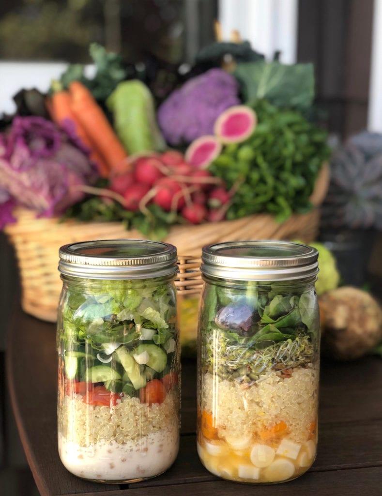 quinoa salad with simply quinoa